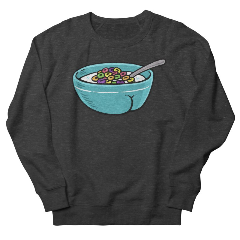 Cereal BUTT Women's Sweatshirt by Brian Cook