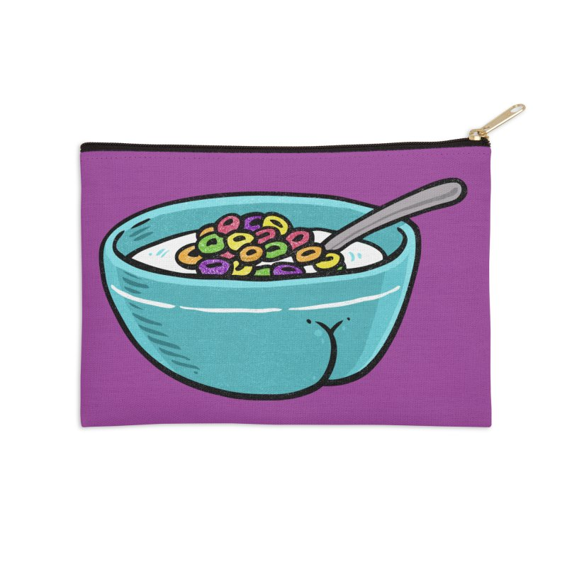 Cereal BUTT Accessories Zip Pouch by Brian Cook