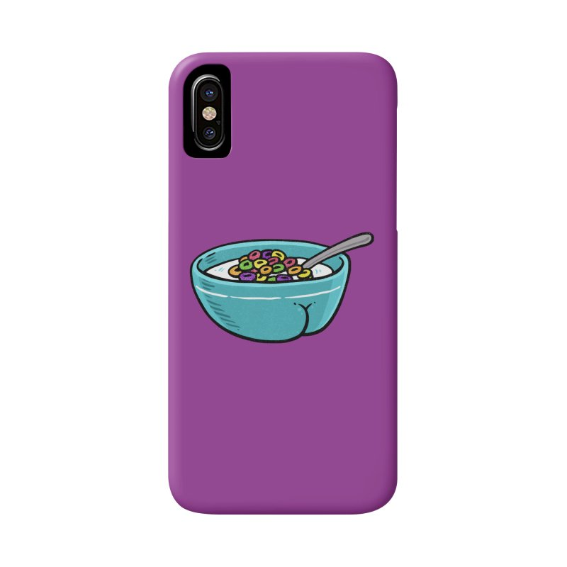 Cereal BUTT Accessories Phone Case by Brian Cook