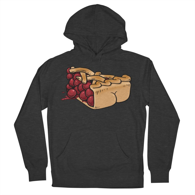 Pie Butt Men's Pullover Hoody by Brian Cook