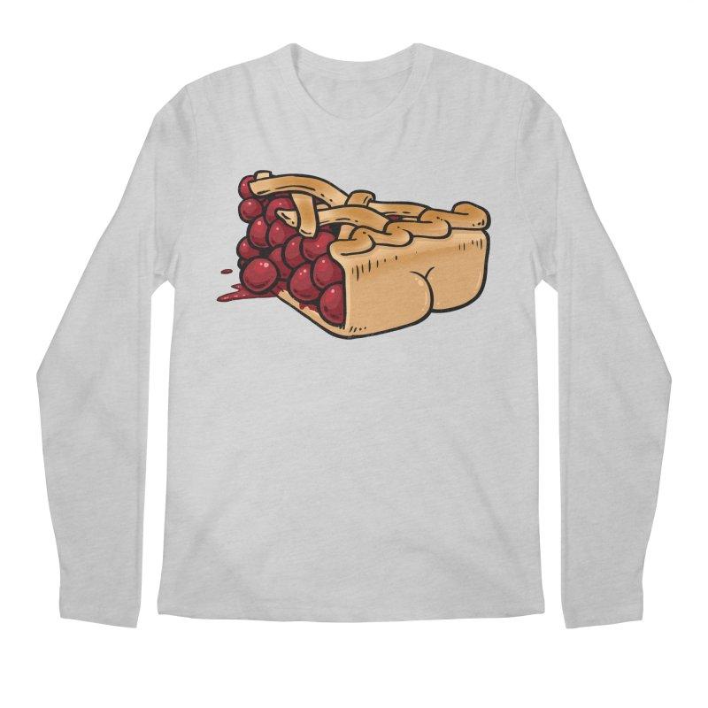 Pie Butt Men's Longsleeve T-Shirt by Brian Cook