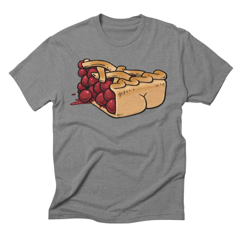 Pie Butt Men's Triblend T-shirt by Brian Cook