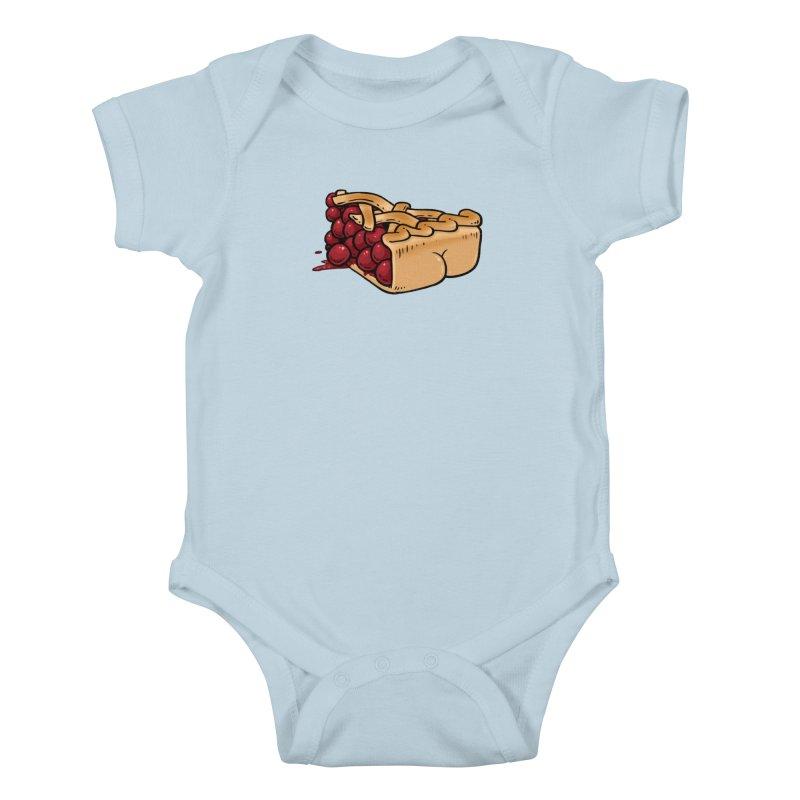 Pie Butt Kids Baby Bodysuit by Brian Cook