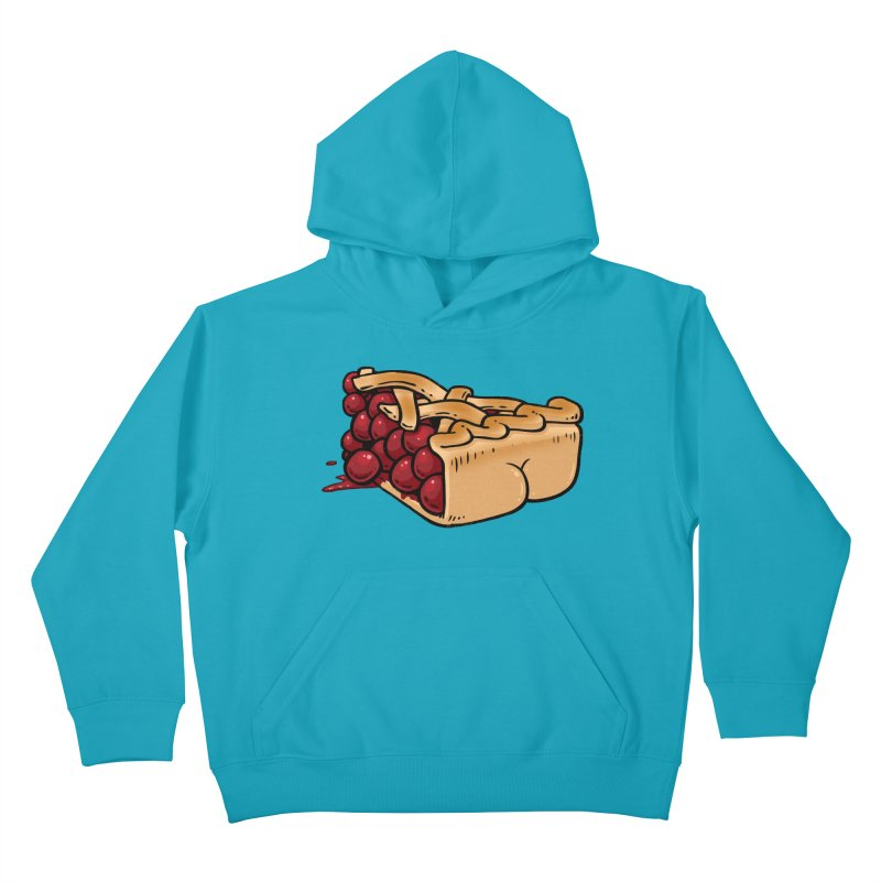 Pie Butt Kids Pullover Hoody by Brian Cook
