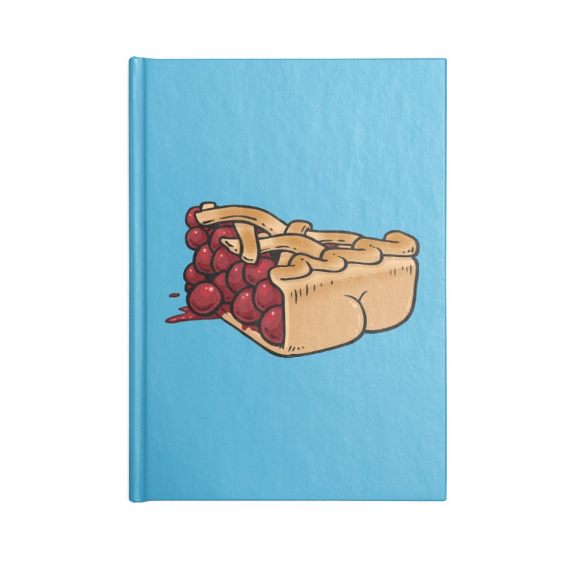 Pie Butt Accessories Notebook by Brian Cook