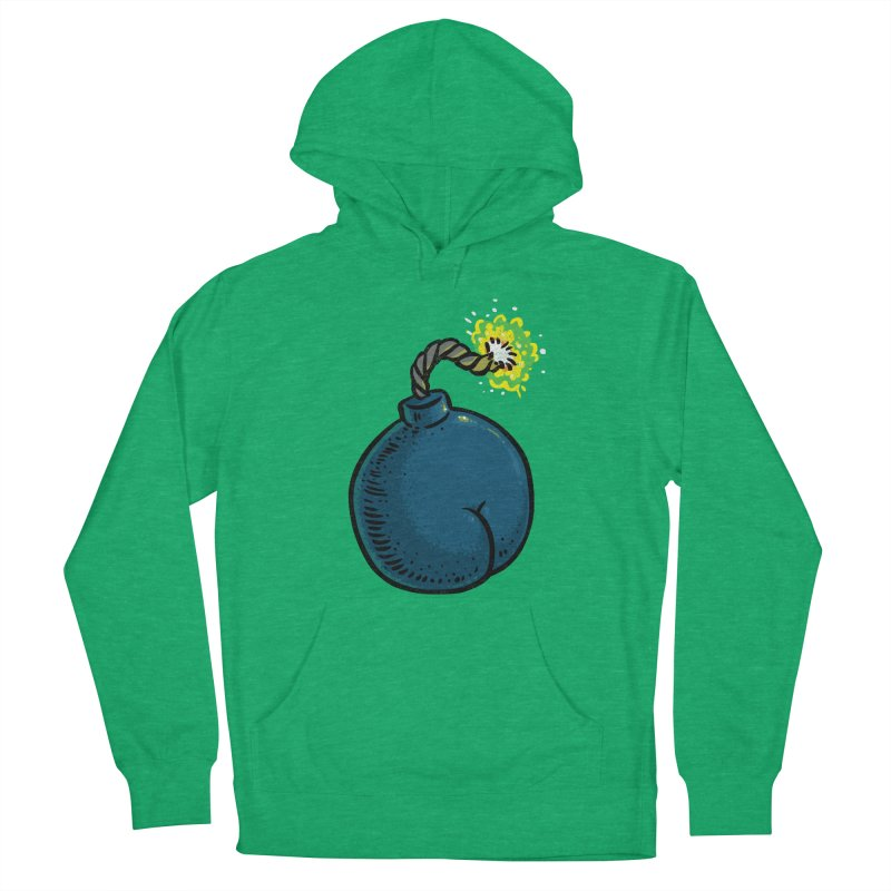 Butt Bomb Men's Pullover Hoody by Brian Cook