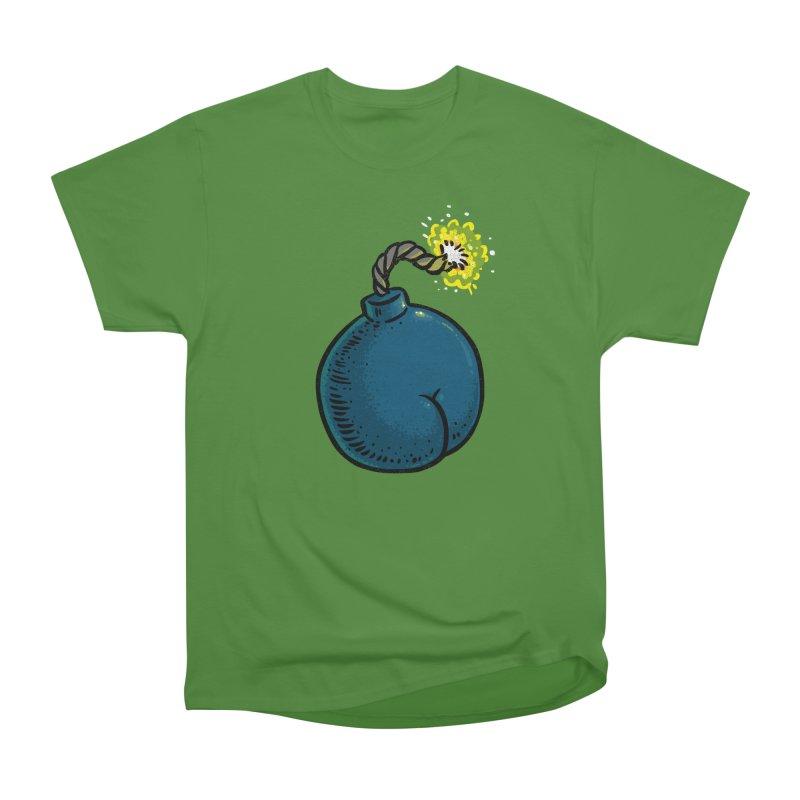 Butt Bomb Men's Classic T-Shirt by Brian Cook