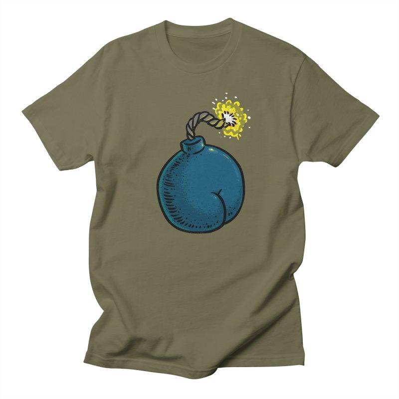 Butt Bomb Women's Unisex T-Shirt by Brian Cook