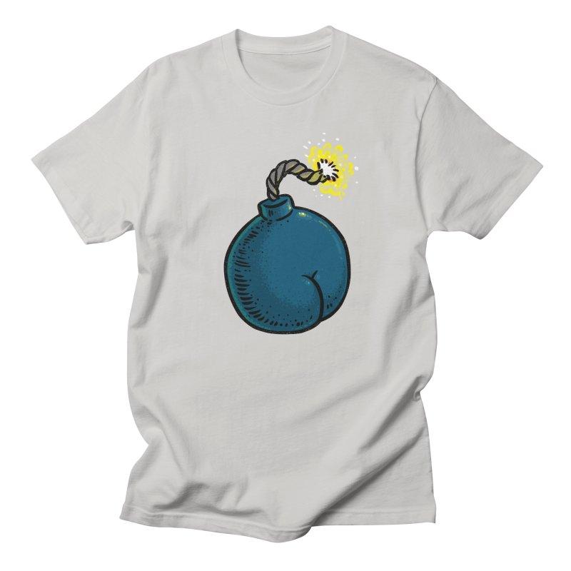 Butt Bomb Men's T-Shirt by Brian Cook