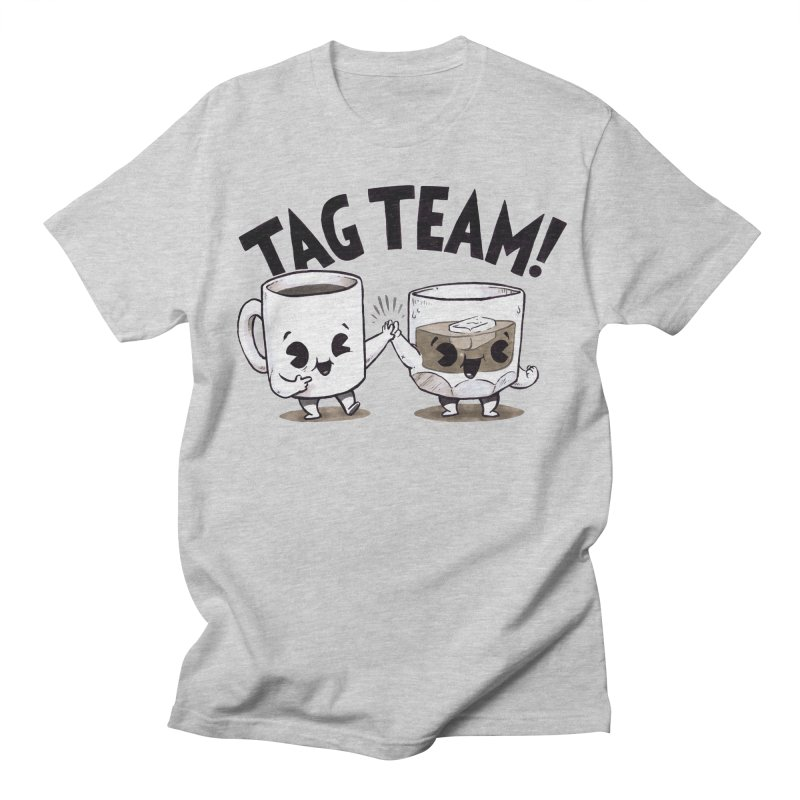 Tag Team Men's T-Shirt by Brian Cook