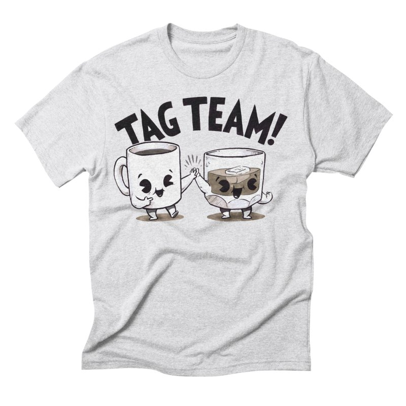 Tag Team Men's Triblend T-Shirt by Brian Cook