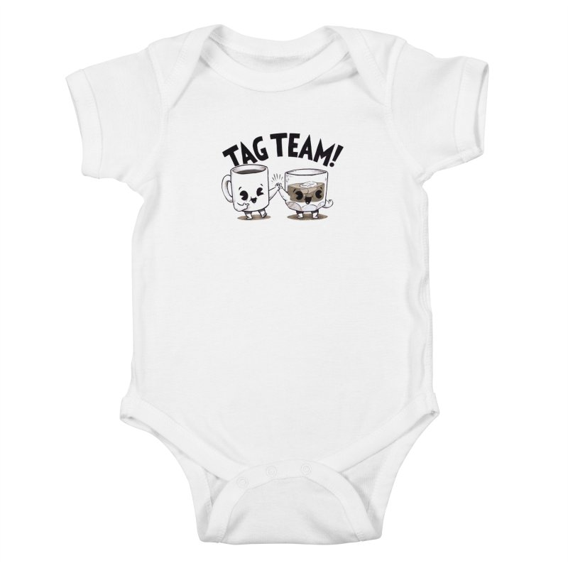 Tag Team Kids Baby Bodysuit by Brian Cook
