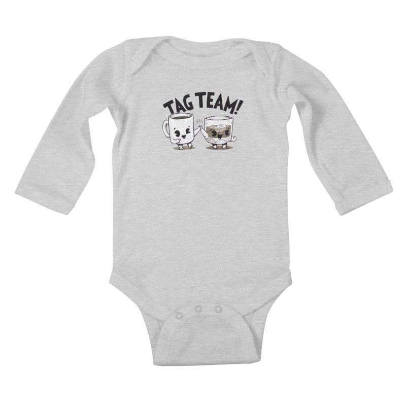 Tag Team Kids Baby Longsleeve Bodysuit by Brian Cook