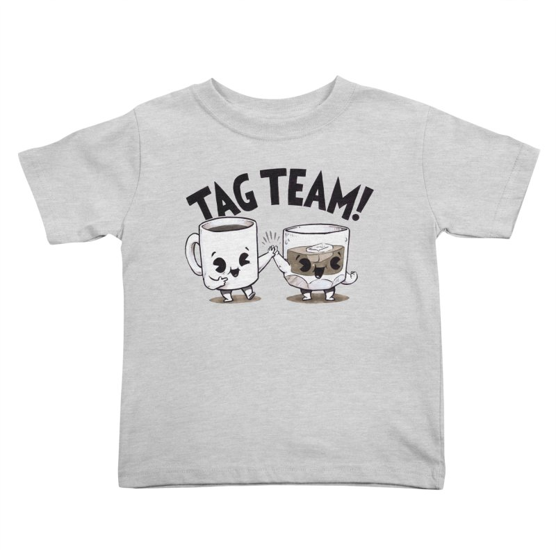Tag Team Kids Toddler T-Shirt by Brian Cook