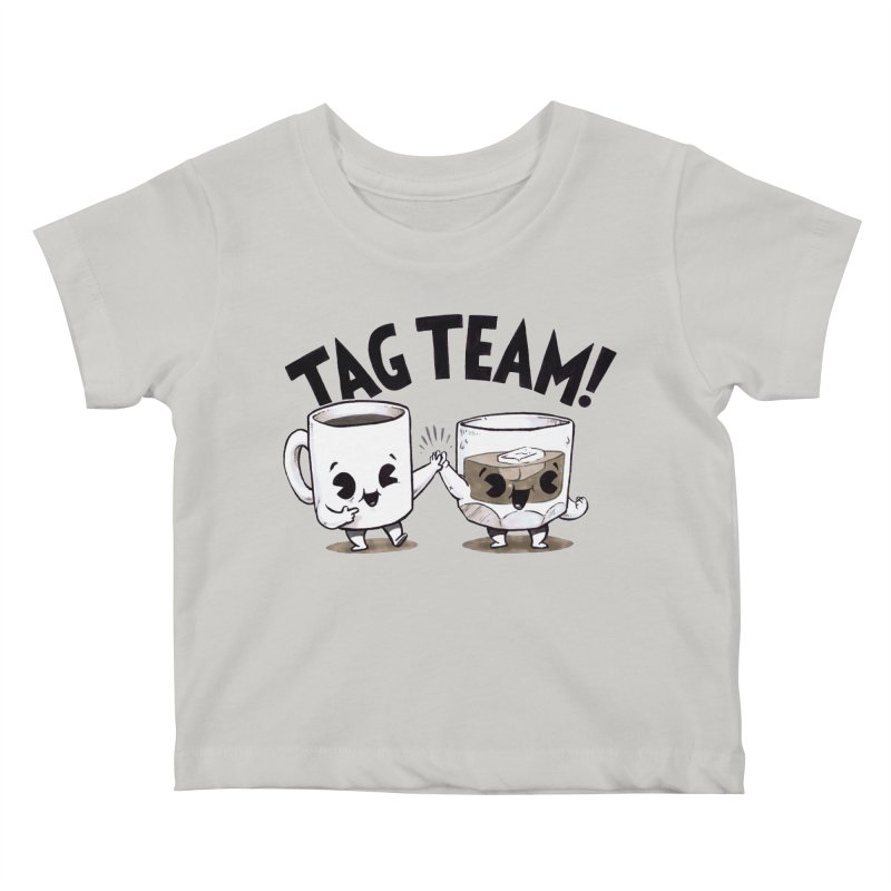 Tag Team Kids Baby T-Shirt by Brian Cook