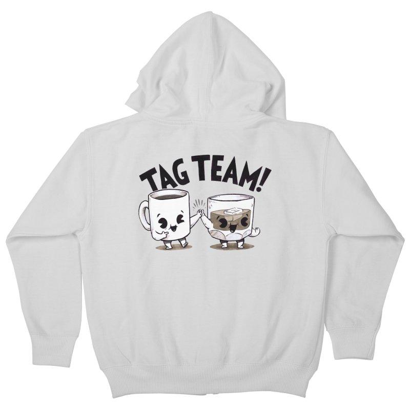 Tag Team Kids Zip-Up Hoody by Brian Cook