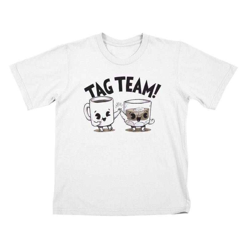 Tag Team Kids T-Shirt by Brian Cook