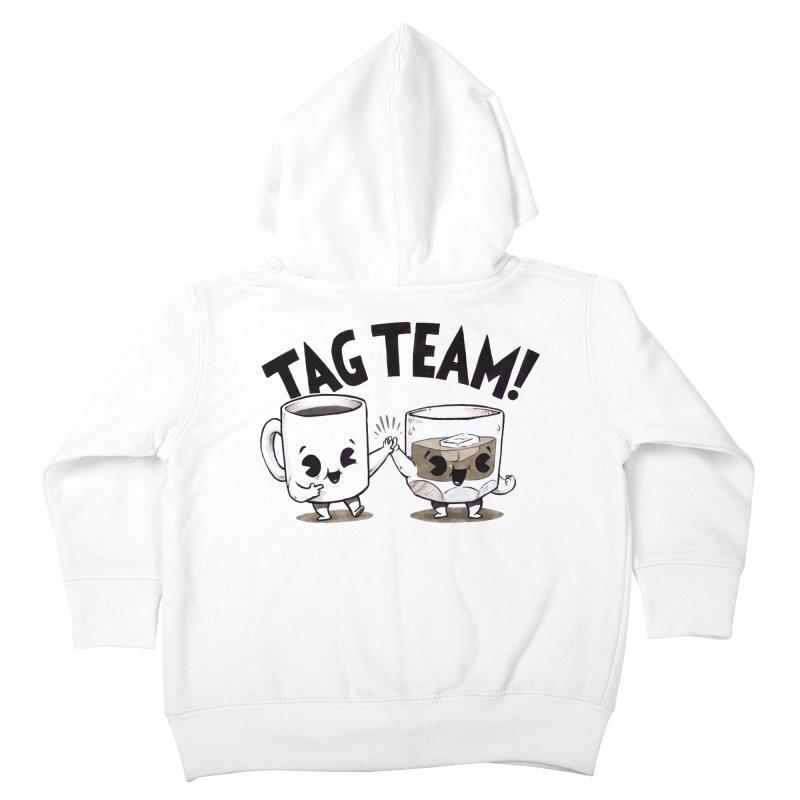 Tag Team Kids Toddler Zip-Up Hoody by Brian Cook
