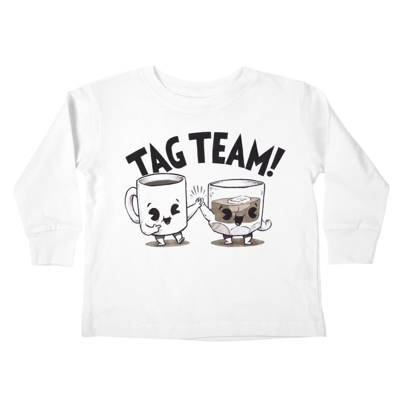 Tag Team Kids Toddler Longsleeve T-Shirt by Brian Cook