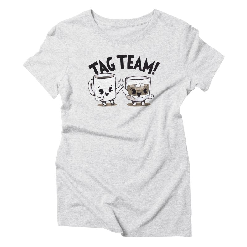 Tag Team Women's Triblend T-Shirt by Brian Cook