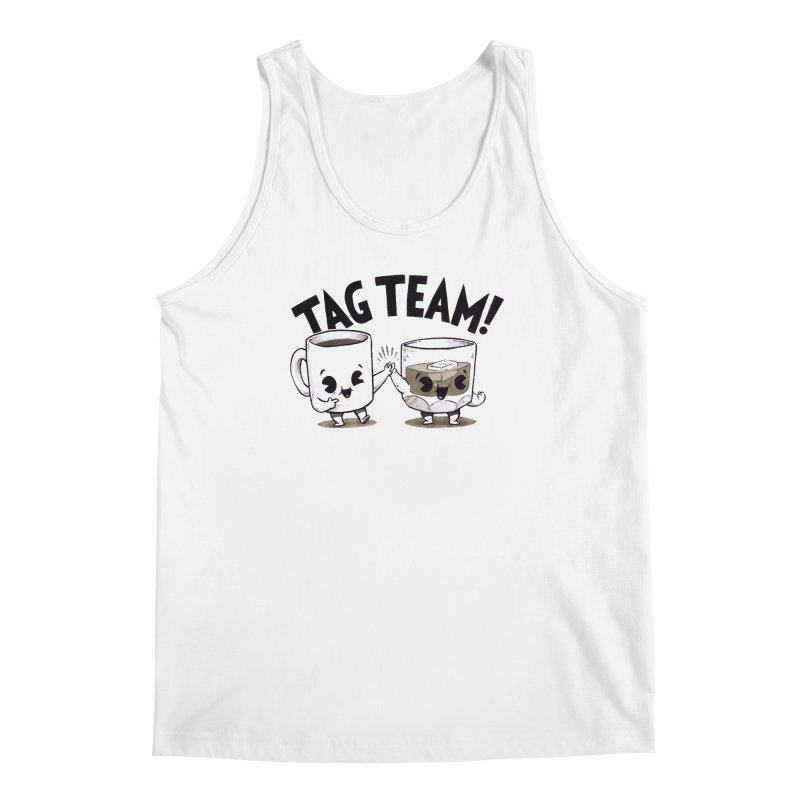 Tag Team Men's Tank by Brian Cook