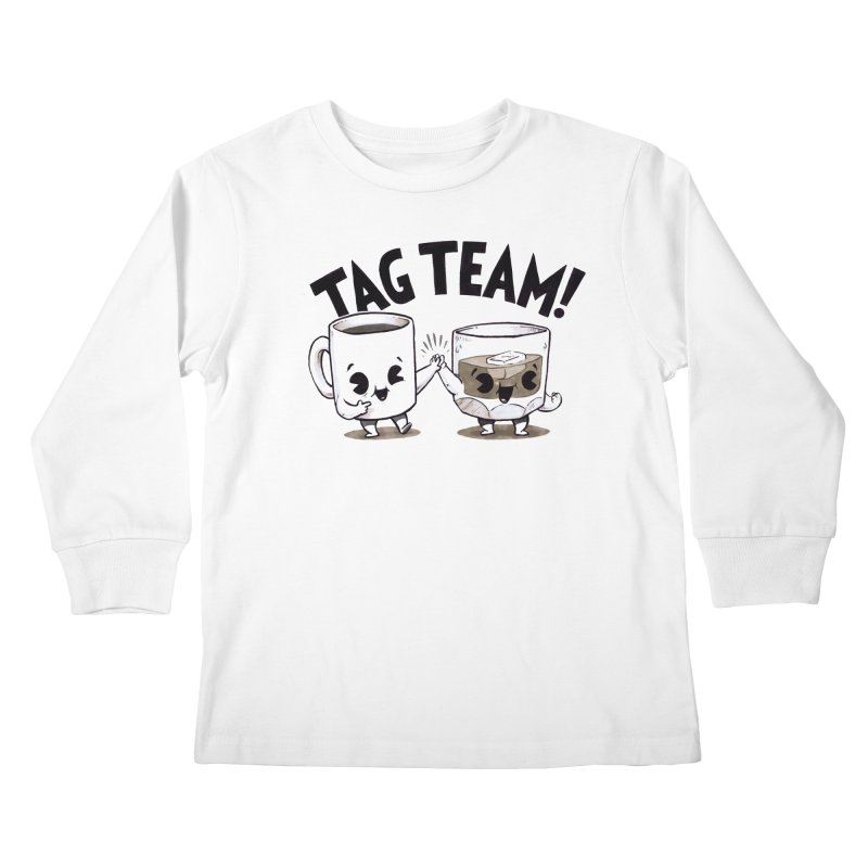 Tag Team Kids Longsleeve T-Shirt by Brian Cook
