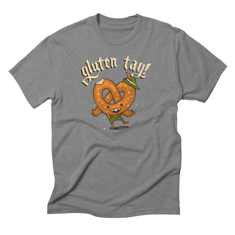 Gluten Tag Men's Triblend T-Shirt by Brian Cook
