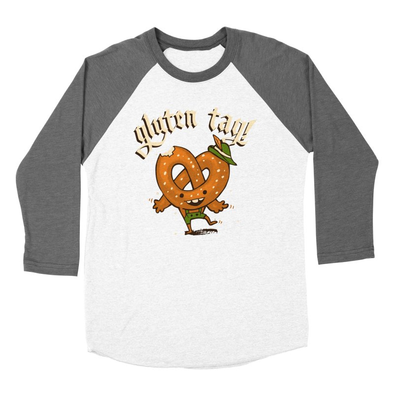 Gluten Tag Women's Baseball Triblend T-Shirt by Brian Cook