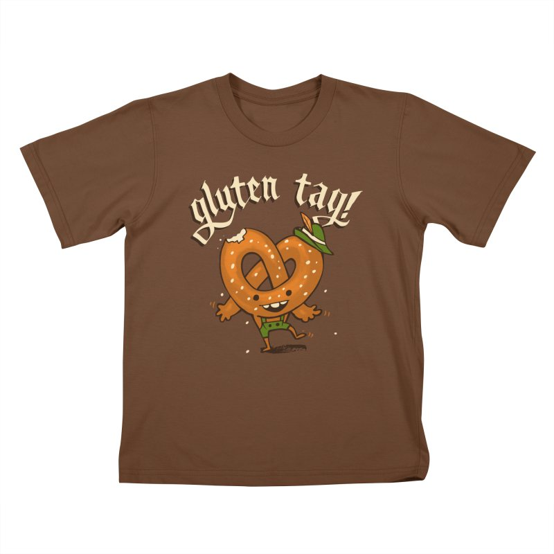 Gluten Tag Kids T-Shirt by Brian Cook