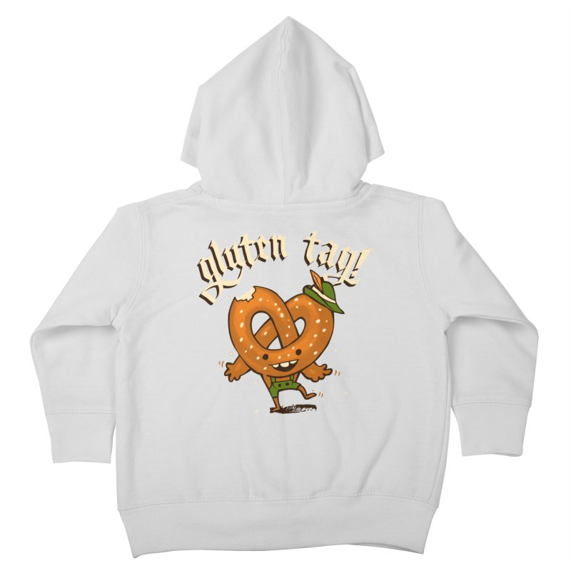 Gluten Tag Kids Toddler Zip-Up Hoody by Brian Cook