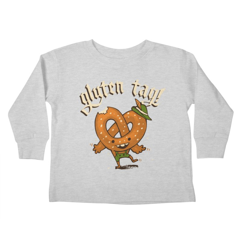 Gluten Tag Kids Toddler Longsleeve T-Shirt by Brian Cook