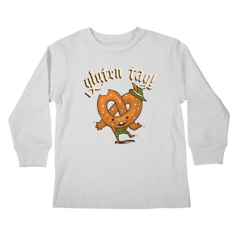 Gluten Tag Kids Longsleeve T-Shirt by Brian Cook