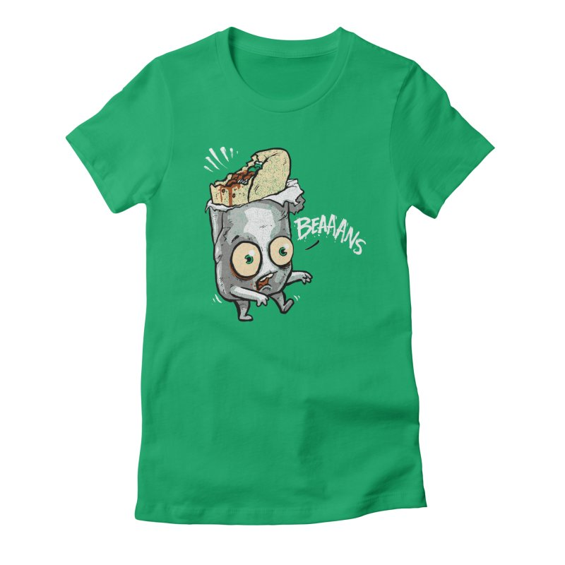 Beaaans Women's Fitted T-Shirt by Brian Cook