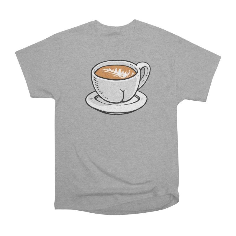 Latte Butt Women's Classic Unisex T-Shirt by Brian Cook