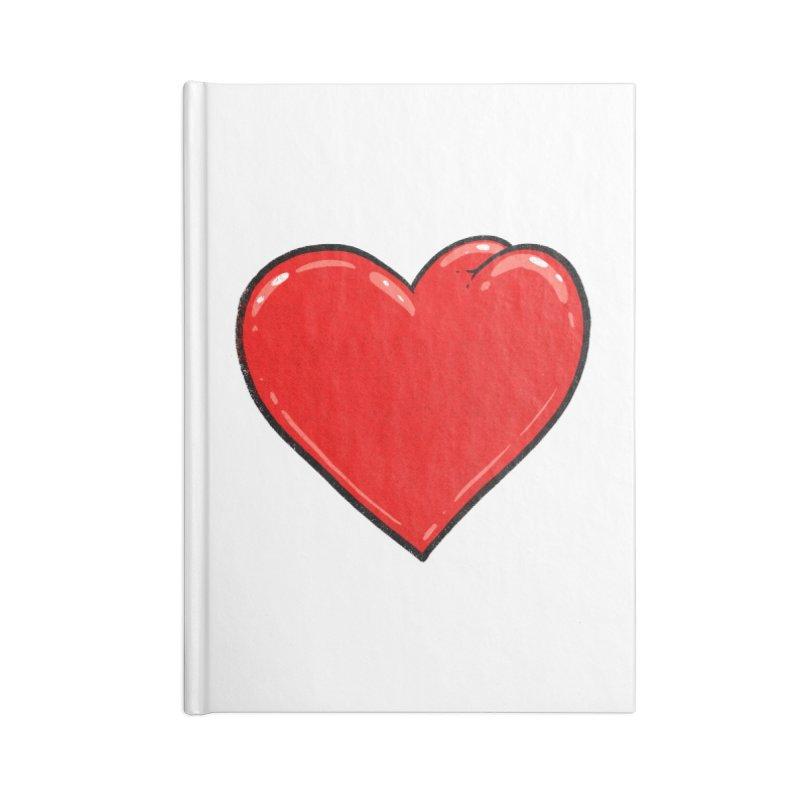 Heart Butt Accessories Notebook by Brian Cook
