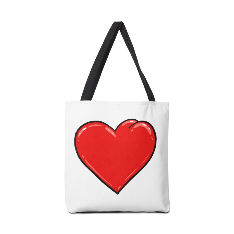 Heart Butt Accessories Bag by Brian Cook