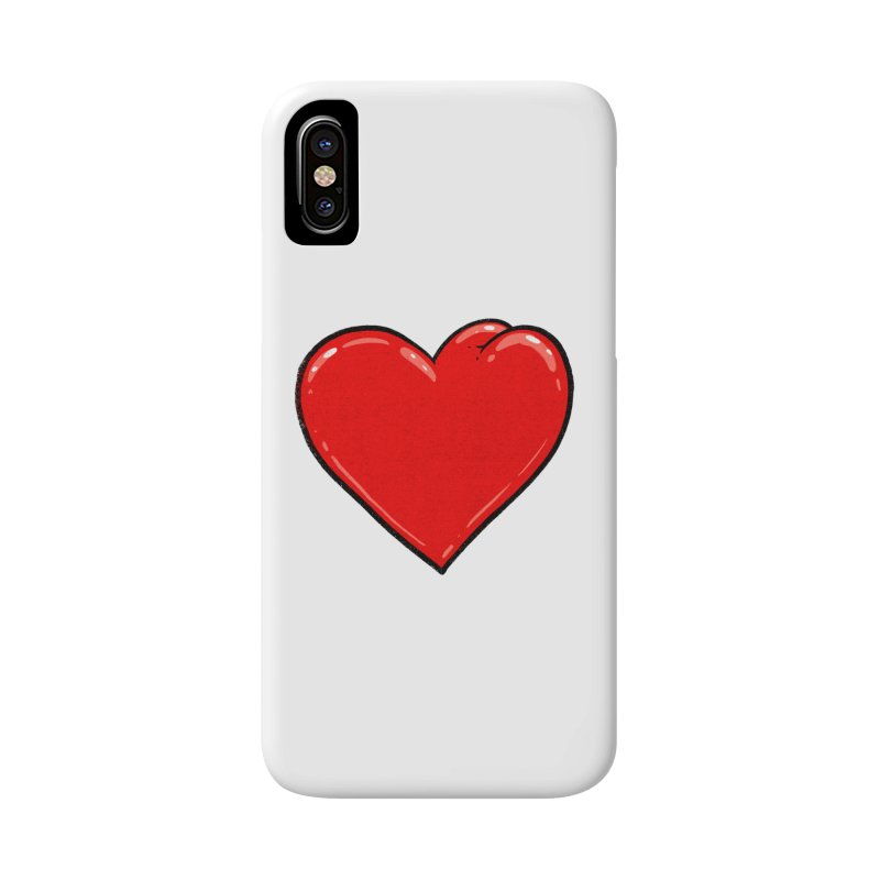Heart Butt Accessories Phone Case by Brian Cook