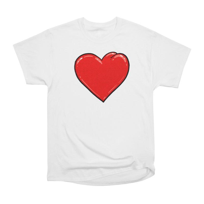 Heart Butt Women's Classic Unisex T-Shirt by Brian Cook