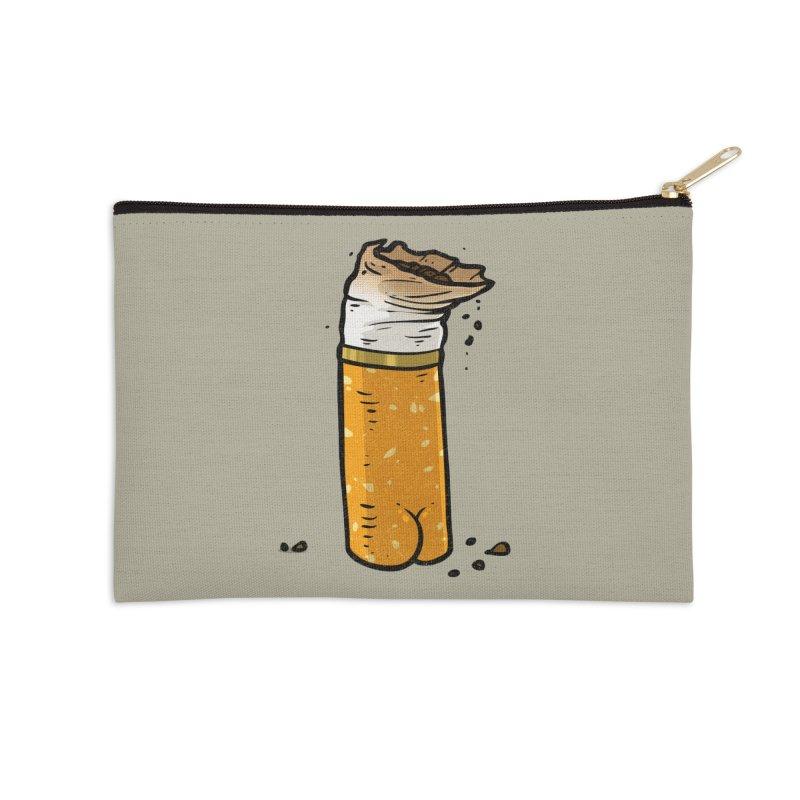 Cigarette Butt Butt Accessories Zip Pouch by Brian Cook