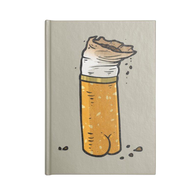Cigarette Butt Butt Accessories Notebook by Brian Cook