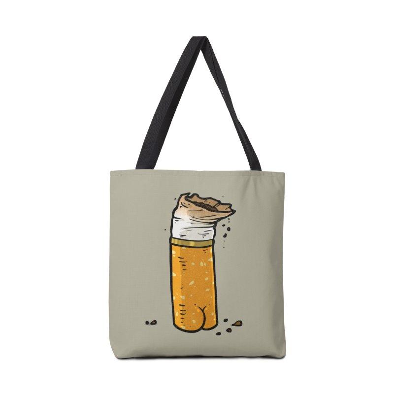 Cigarette Butt Butt Accessories Bag by Brian Cook