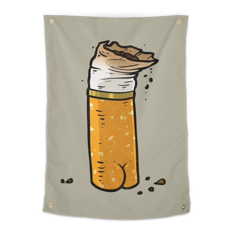 Cigarette Butt Butt Home Tapestry by Brian Cook