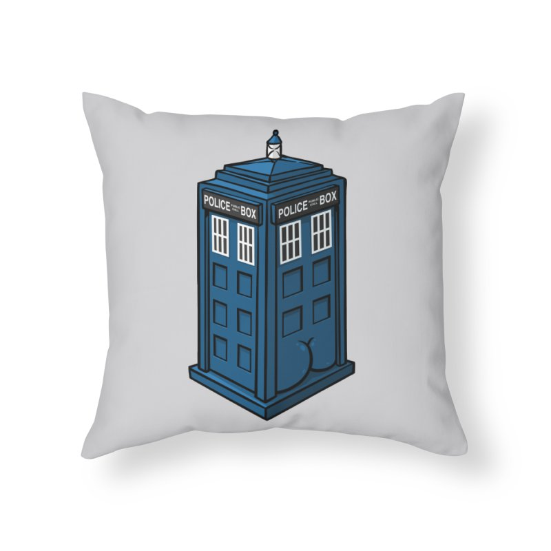 TardASS Home Throw Pillow by Brian Cook