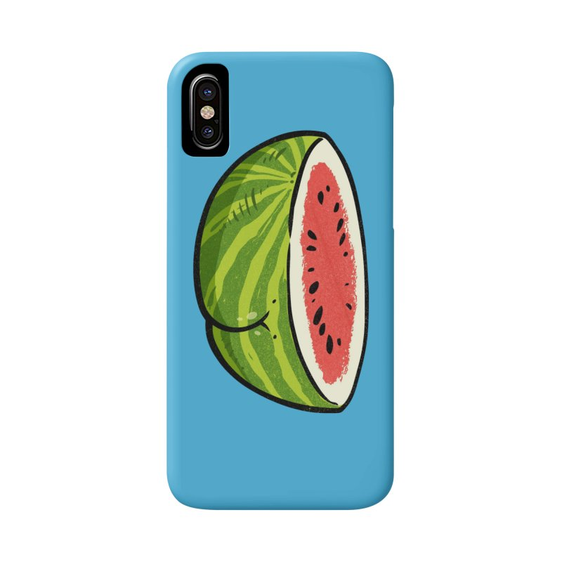 Watermelon Butt Accessories Phone Case by Brian Cook