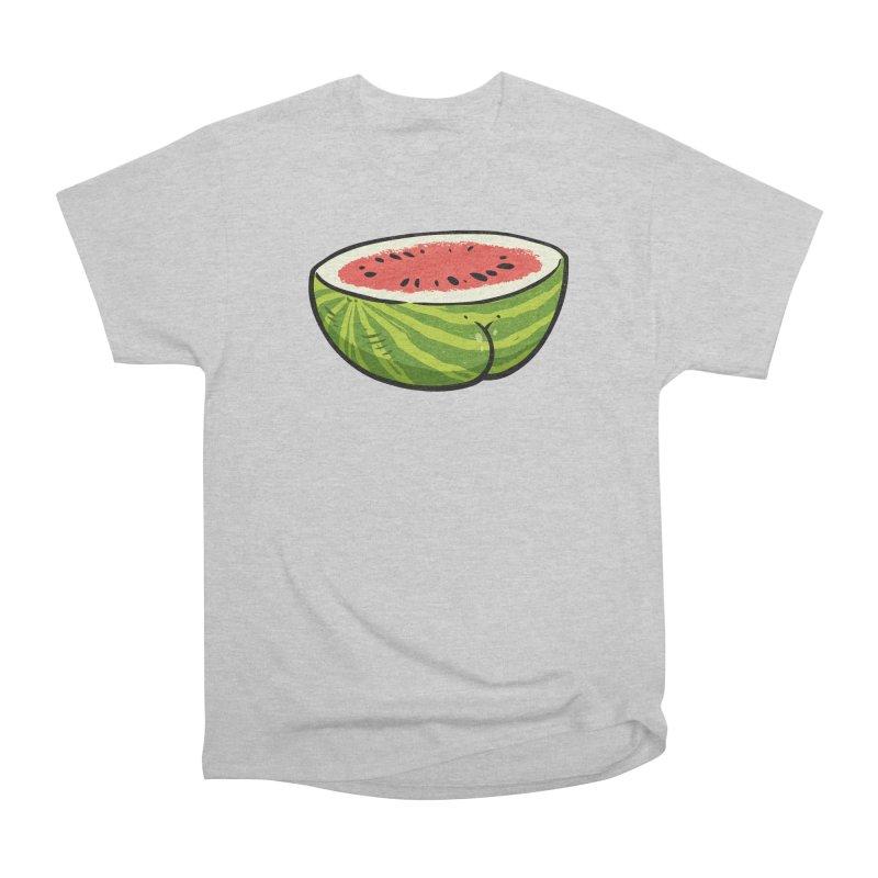 Watermelon Butt Women's Classic Unisex T-Shirt by Brian Cook
