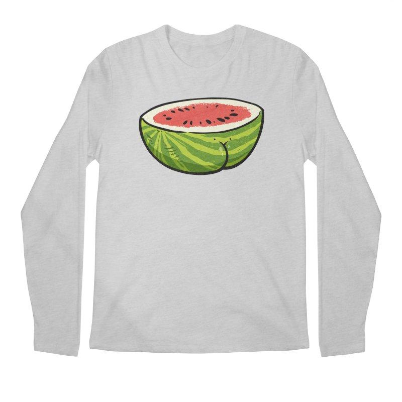Watermelon Butt Men's Longsleeve T-Shirt by Brian Cook