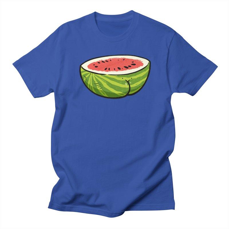 Watermelon Butt Women's Unisex T-Shirt by Brian Cook
