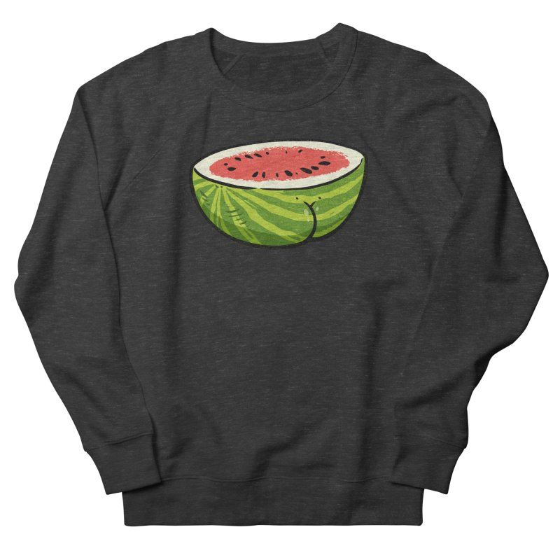 Watermelon Butt Men's Sweatshirt by Brian Cook