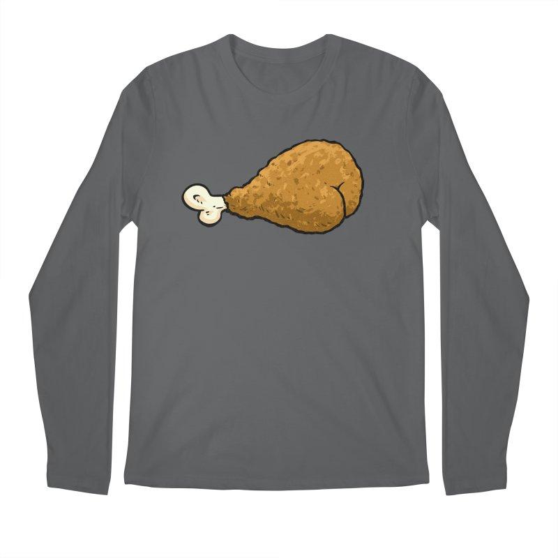 Chicken Butt Men's Longsleeve T-Shirt by Brian Cook