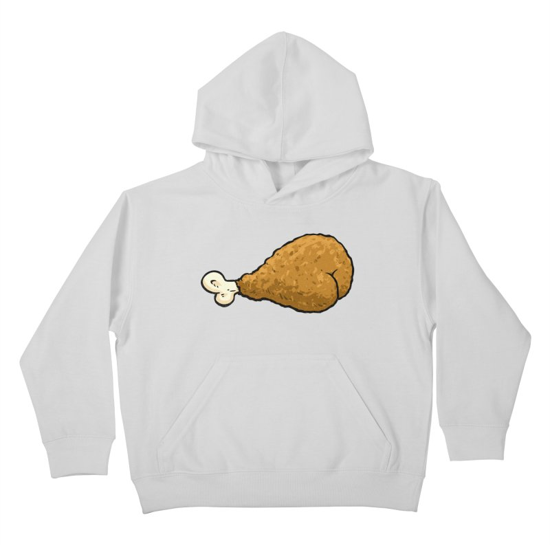 Chicken Butt Kids Pullover Hoody by Brian Cook